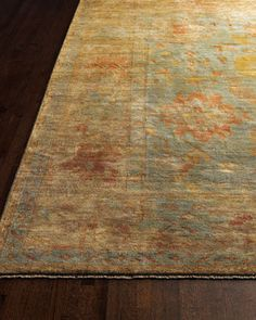 Victorian Oushak Rug - traditional - rugs - Horchow