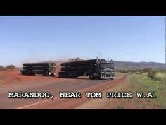 Trucking in the Outback (Australia)