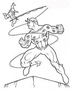 Aquaman coloring page 36  Aquaman coloring book  Pinterest