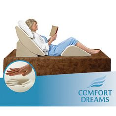 Comfort Dreams Zero Gravity Adjustable 3-Piece Wedge System.  Does it make me old if I totally want this?
