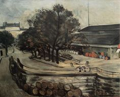 Paris, Quai de Jussieu, la Halle aux vin, 1872 Paul Cézanne