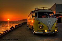 puesta de sol en vocho !!