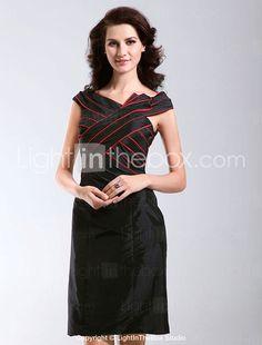 NERINA - Vestido de Coquetel em Tafetá - BRL R$ 250,69