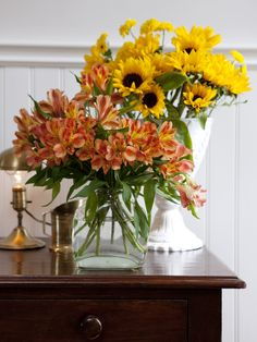 simple flower arrangements for fall