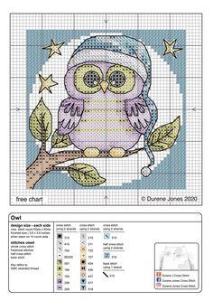 Cross Stitch Sampler Patterns, Cross Stitch Owl, Free Cross Stitch Charts, Cat Cross Stitches, Disney Cross Stitch Patterns, Cross Stitch Letters, Cross Stitch Cards, Vintage Cross Stitches, Cross Stitch Samplers
