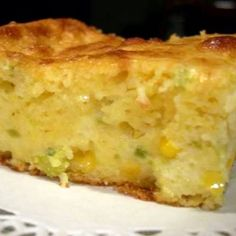 Moist Mexican Cornbread Recipe 17 ozs cornbread mix (Jiffy) 1 onion (small, diced finely) 2 cups Mexican cheese blend 15 ozs cream style corn cups sour cream 4 eggs (beaten) 4 ozs green chilies (diced) cup oil 4 jalapeno chilies (seeded and diced) Best Cornbread Recipe, Sweet Cornbread, Jiffy Mexican Cornbread, Cornbread Mix, Jiffy Cornbread Recipes, Jalapeno Cornbread Muffins, Jiffy Recipes, Grandma's Recipes, Cornbread Dressing