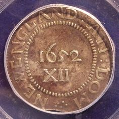 earliest american coins | ... classic Pine Tree shilling or even the quintessential colonial coin