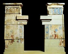 Shrine facade Amarna to be seen in Egyptian Museum Cairo JE 65041 (Yvonne Buskens, contrib.)