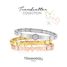 Trendsetter Collection | Nomination Italy #nominationitaly #bracelet #trendsetter