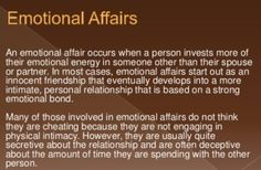 Emotional Cheating (The You Outta Know Before You Get Caught Out There Edition)