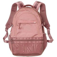 Amazon.com | Victoria's Secret Pink Campus Backpack Animal... ($23) ❤ liked on Polyvore featuring bags, backpacks, black and white backpack, knapsack bag, backpack bags, logo bags and victoria secret pink backpack
