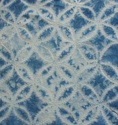 shibori stitch resist