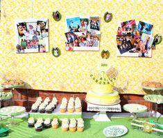 Daisy Graduation Party - Oh My Creative