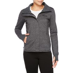 Bench Lightwind Zip Up Sweatshirt (63 CAD) ❤ Liked On Polyvore Featuring  Tops