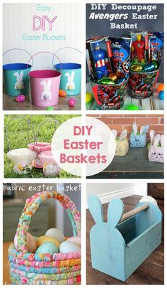 DIY Easter Baskets -
