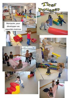 tirer pousser Motor Activities, Science Activities, Physical Activities, Physical Education, Activities For Kids, School Sports, Kids Sports, Kindergarten, Pe Lessons