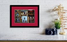 Paintings In Montmartre Framed Print by Camelia C