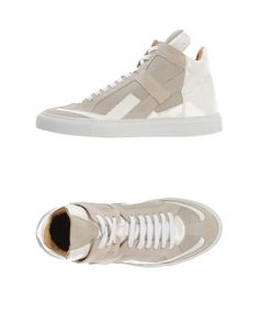 MM6 by Maison Martin Margiela | White High-tops & Trainers | Lyst