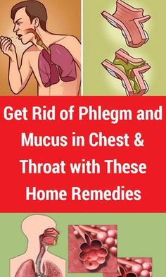 Get Rid of Phlegm and Mucus in Chest & Throat with These Home Remedies