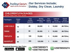 Dear parents, you now have another reason to smile. We are introducing laundry packages for children. To know more 👉Subscribe, download our HobyClean Customer app or call us at +256776515244 or 🔗www.hobyclean.com #Hobyclean #stains #stainremoval #laundry #laundryservice #laundryday #laundrykiloan #laundrycoin #laundryekspress #laundryroom #laundrytime #coinlaundry #speedqueen #laundrysatuan #carpetcleaning #dirtyclothes #customerapp #SignUp #forfree #downloadtheapp #ecommercelaundry #expandyo Online Laundry, Coin Laundry, Dear Parents, Laundry Service, Reasons To Smile, Round Trip, How To Clean Carpet, Dry Cleaning, Stains