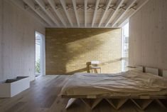 The overall winner of the New London Architecture (NLA) Don't Move Improve! 2016 awards – London's premier celebration of best new home extensions – is the House of Trace by Tsuruta Architects. Simple House, House, House Extensions, Interior Architecture, Bedroom Interior, London House, New Homes, Brick Awards, Rustic House