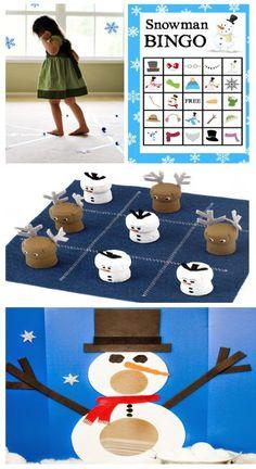 Fun & creative winter party games for kids. 30+ ideas great for the classroom! #winterparty #winterpartyideasforkids #winterpartygamesforschool #partygameskids #growingajeweledrose #activitiesforkids