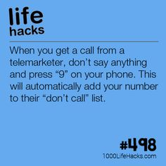 """How To Put Yourself On The """"Do Not Call"""" List"""