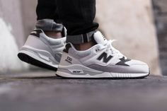 New Balance is giving us another fresh colorway of their 530 model that is perfect for the Spring/Summer. The shoe will be coming done in mostly White/Grey which makes for a very simple and clean look. This New Balance 530 features a White base with Grey mesh detailing throughout and is finished off with hints