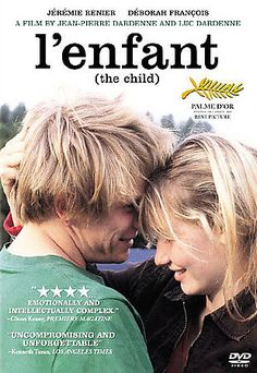 "BUY IT NOW $2.99! DVD Movie ""l'enfant"" Foreign Film *Best Picture* Powerful & Intellectual Drama - Rated R"