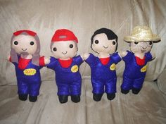 These Imagination Movers dolls are awesome!! My son would love to have these!!