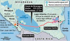 Nicaragua Constructs Enormous Canal, Blind to its Environmental Cost - Scientific American Managua, Scientific American, Water Resources, Science And Technology, Blinds, Environment, Construction, Business, Life