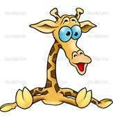 Cartoon Giraffe - Bing Images I want a small giraffe tattoo on my inner right ankle♥