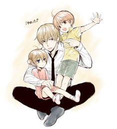 C: Sougo x Kagura S: Gintama D: Sougo and Kagura's kids