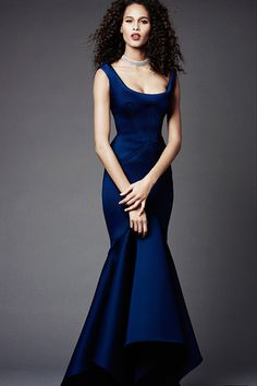 WedLuxe– Something Sapphire | Via Style.com Follow @WedLuxe for more wedding inspiration!