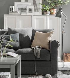 Dank Der Mischung Aus Traditionellem Stil Mit Modernem Design Ist Das  GRÖNLID Sofa Mit Vielen Einrichtungsstilen