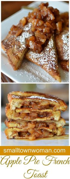 What is there not to love about French toast, apples and cinnamon? All those wonderful flavors packed in one delectable breakfast!