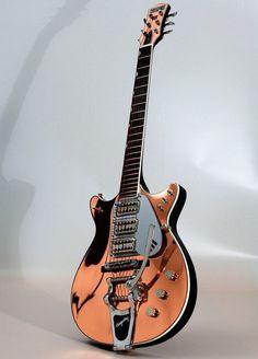 """Résultat de recherche d'images pour """"Gretsch triple Jet Electric Guitar"""""""