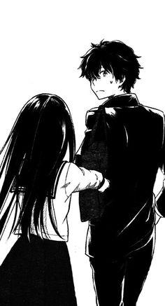 Chitanda Eru / Oreki Houtarou ★ Hyouka