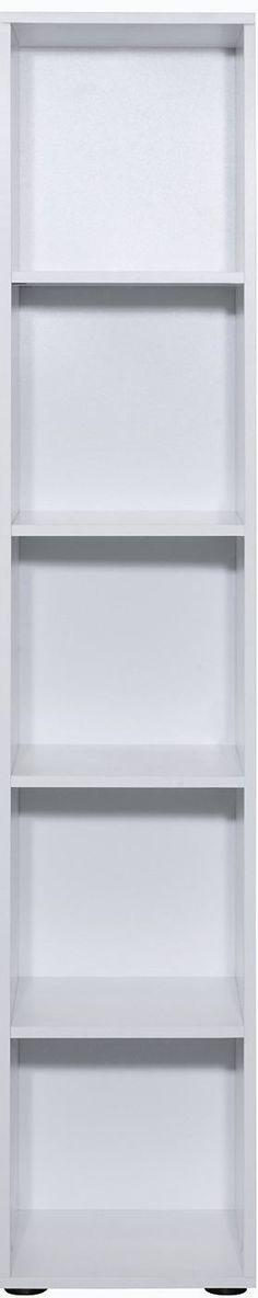 Dieses Regal aus Modell »Carry« ist für kleine Räume wie geschaffen. Wählen Sie zischen den Breiten 36 cm bzw. 71 cm. Mit 5 Ablagefächern und einem neutralen Design können Sie unser Regal optimal zu jedem bereits vorhandenen Möbelstück ergänzen. Die Füße des Regals sind Höhenverstellbar. Die pflegeleichte Oberfläche zeichnet dieses »Made in Germany« Produkt aus.   In folgenden Farben erhältlich...