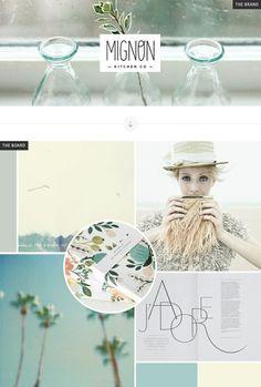 J'Adore, pastel soft colour palette