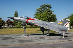 The first major production model of the Mirage series,the Mirage IIIC, first flew in October 1960 A total of 95 Mirage IIICs were obtained by the French Air Force (Armée de l'Air, AdA), with initial operational deliveries in July 1961. The Mirage IIIC remained in service with the AdA until 1988. This Mirage 3C serial 1 and code 2-FC  made its last operational flight in 1988 after 30 years of service and is preserved in Saintes (France) since 9 October 2000.