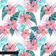 Lanikai floral by Schatzi Brown