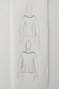 DIY: Lær at lave snitmønstret løsere, så pasformen i bluser og kjoler er bedre.