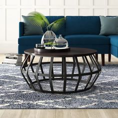 Mercury Row Arcturus Frame Coffee Table & Reviews | Wayfair Pedestal Coffee Table, Drum Coffee Table, Glass Top Coffee Table, Coffee Table Wayfair, Lift Top Coffee Table, Round Coffee Table, Coffee Table With Storage, Affordable Furniture, Outdoor Furniture Sets