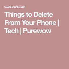 7 Things You Should Delete from Your Phone Right Now Iphone 6s Tips, Iphone Secrets, Iphone Hacks, Android Hacks, Cell Phone Hacks, Smartphone Hacks, Computer Lessons, Computer Help, Computer Forensics