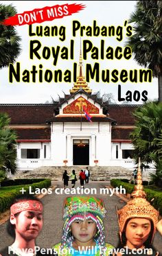 The Royal Palace National Museum in Luang Prabang is a wonderful way to find out more about the colourful history of Laos. Kings and crown jewels, art and artifacts and much more. Luang Prabang, Laos Travel, Best Travel Guides, Royal Palace, Prince And Princess, Crown Jewels, National Museum, Luxury Travel, Dream Vacations