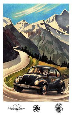 Grossglockner VW Beetle