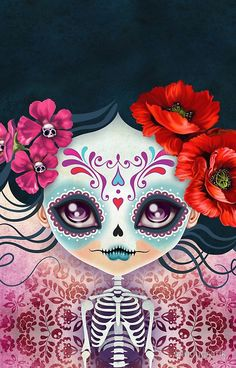 Amelia+Calavera+-+Sugar+Skull