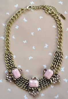 Rethink Pink Necklace