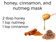 Which DIY Face Mask Should You Use: Ance Prone- To make it, mix two tablespoons of honey with one teaspoon of cinnamon and one teaspoon of nutmeg. Smooth onto the face (avoiding the eyes) and leave on for 10-15 minutes.